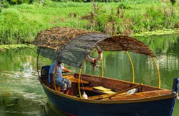 Fischerboot am Skudarisee