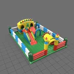 Inflatable playground for children