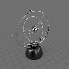 Kinetic desk sculpture 1