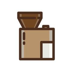 COFFEE ICON VECTOR COLOR