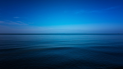 Stores photo Mer / Ocean Dark and Blue ocean, Vast ocean and calm