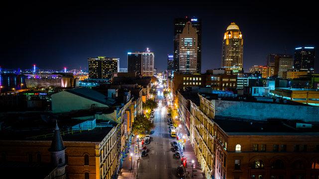Main Street in Louisville, KY
