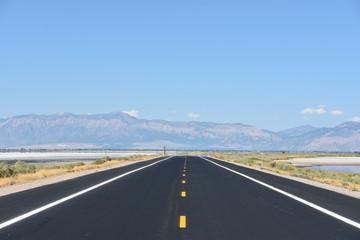 Antelope Island State Park in Utah