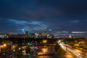 Cloudy Queen City
