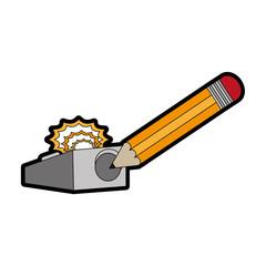 Pencil and eraser design