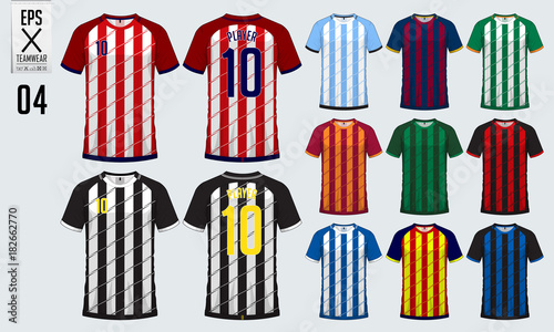 adca1da30 T-shirt sport design for soccer jersey