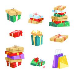 Gifts box for Christmas, birthday, anniversary