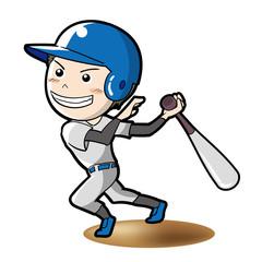 野球・バッターイメージ