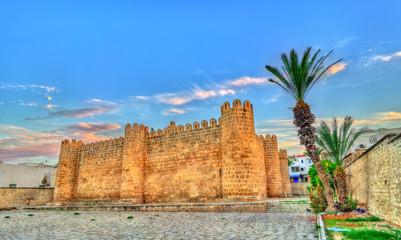 Keuken foto achterwand Tunesië Ribat, a medieval citadel in Sousse, Tunisia.