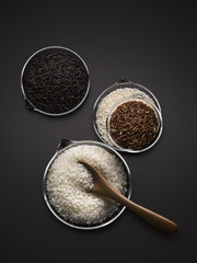 Different varieties of rice, Food, Nutrition