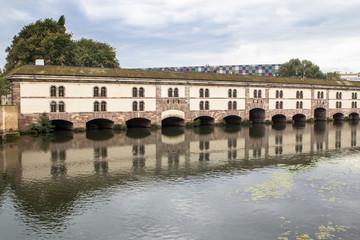 Poster Channel Barrage Vauban, Strasbourg, France