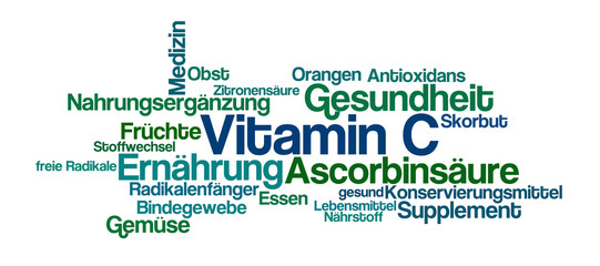 Word Cloud - Vitamin C