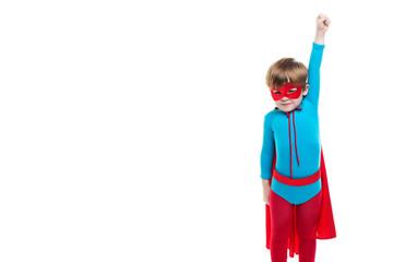 Kid superhero.