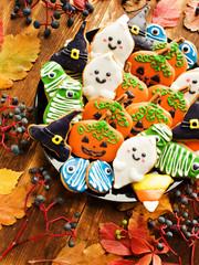 Halloween sweet cookies