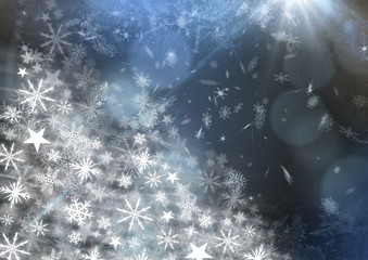 Snowflake Christmas patterns