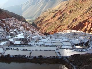 Salt mines, Peru