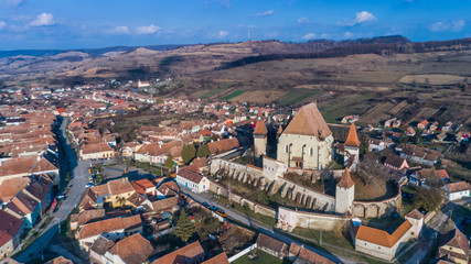 Biertan fortified church in Transylvania, Romania.