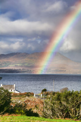 Rainbow on Bantry Bay, Wild Atlantic Way