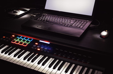Midi Controller and Lap Top