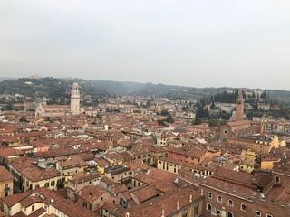 View on Verona from the Torre Dei Lamberti