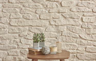 brick wall home style
