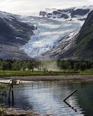 Svartisen Gletscher, Norwegen