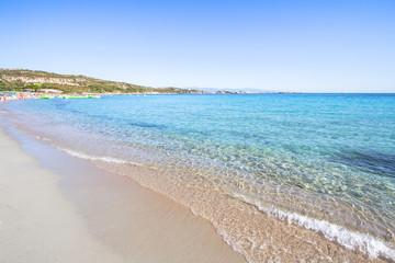 Beautiful beach on Sardegna island, Italy