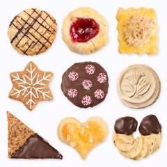 Verschiedene Kekse, Collage 3