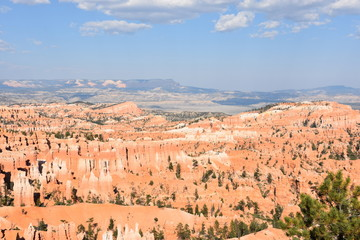 Sunset Point at Bryce Canyon National Park in Utah