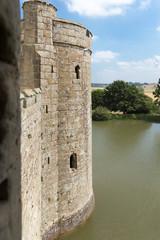 Uk, England, Bodiam castle in Sussex
