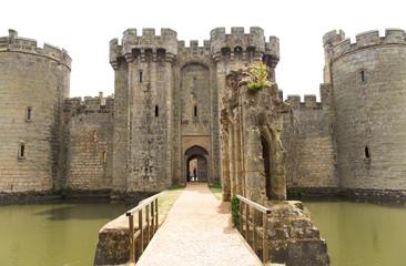 Fotorolgordijn Kasteel Uk, England, Bodiam castle in Sussex