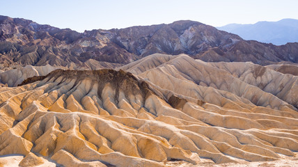 Death Valley National Park in California - wonderful rocky landscapes