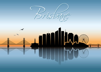 Brisbane skyline - Australia