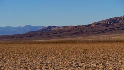 Beautiful scenery at Death Valley National Park California - Badwater salt lake
