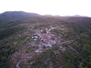 Mogarraz, Monforte de la sierra pueblo bonito de Salamanca, (Castilla y León, España)