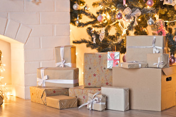 Christmas decoration scenery for photography 9304.
