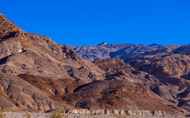 The colors of Mosaic Canyon at Death Valley National Park