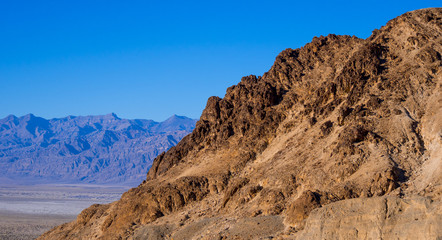 Mosaic Canyon - an amazing landmark in the famous Death Valley