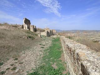 Moya, Cuenca. Pueblo historico en Castilla la Mancha (España)