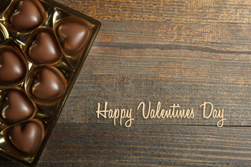box of chocolates, Valentine's Day