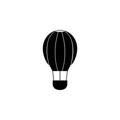 Aerostat icon flat