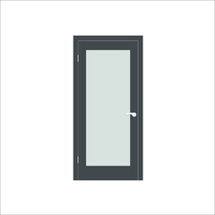 Door icon. Vector illustration
