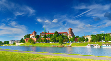 Foto op Aluminium Krakau Wawel castle, Poland