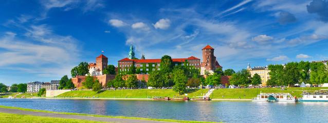Poster Cracovie Wawel castle, Poland