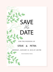 wedding invitation card templated