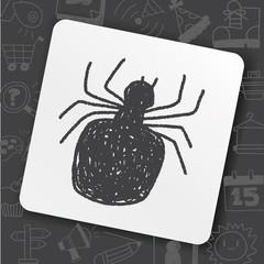 spider doodle