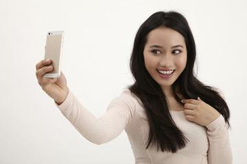 woman selfie