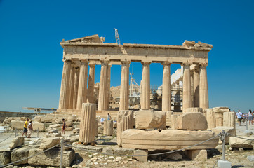 parthenon in Athens greece ancient monuments caryatids