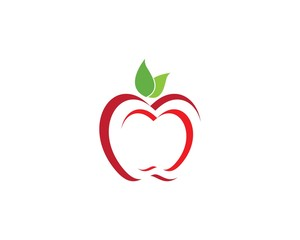 Apple vector illustration design symbol
