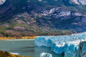 The lake Argentino, Patagonia